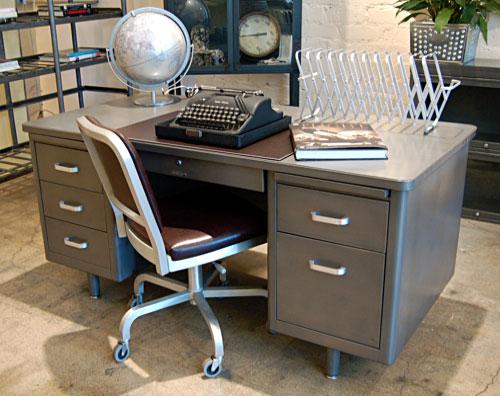 Mob lia de escrit rio vintage da sonrisa furniture a - Escritorio vintage ...
