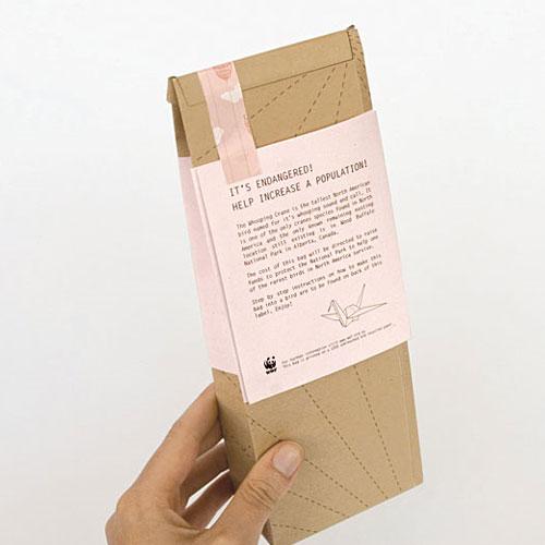 Projeto para embalagens desenhado por Magdalena Czarnecki
