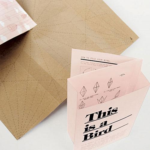 This is Origami, projeto para embalagens desenhado por Magdalena Czarnecki