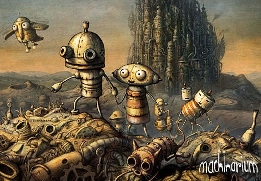 machinarium, amanita design