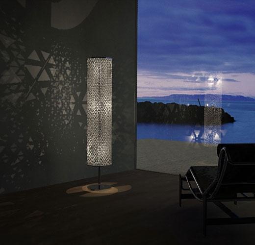 Ed Chew apresenta sua criação intitulada TetraBox Lamp