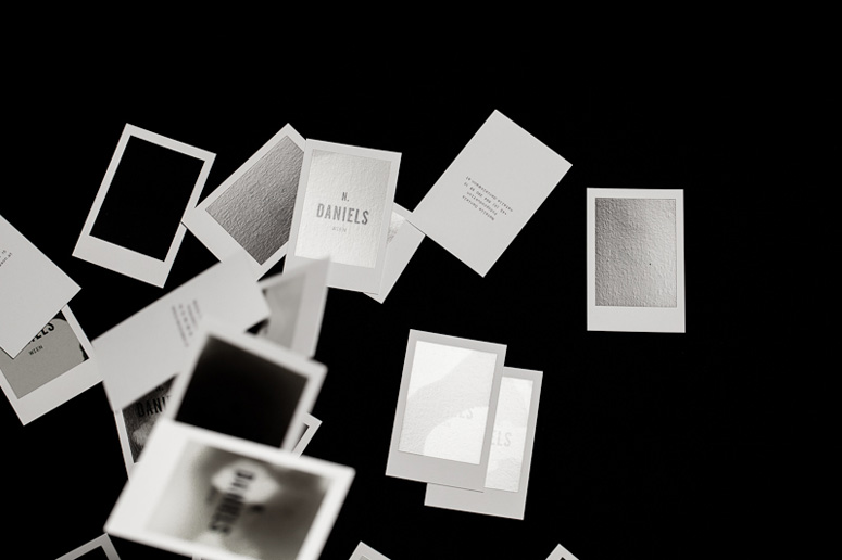Cartões de visita termo sensíveis Bureau Rabensteiner