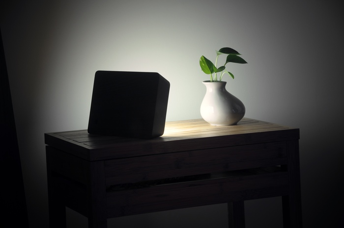 Brick Lamp luminária de LED portátil com bateria embutida