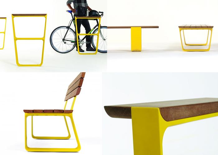 MultipliCITY coleção de mobiliário para exteriores